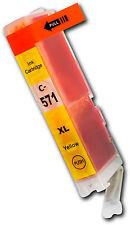CLI571 jaune unique cartouche d'encre pour Canon Pixma MG6850 MG6851 MG6852 MG6853