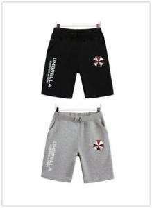 Resident Evil 6 Umbrella Corporation Men's Casual Shorts Beach Short Pants A11