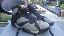 Jordan Burdeos Original Nike Air Jordans No.7 tamaño 8.5. Raro. usado con respecto