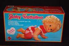 BAMBOLA BABY TROTTOLINA ORIGINALE MATTEL ANNI 80 NUOVO #7231 VINTAGE