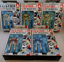 '02 Banpresto Japan DX Macross VF-1 TV Series Complete Valkyrie Set Robotech
