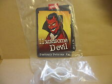 Thwaites Handsome Devil Ale Beer Pump Clip face display New with clip