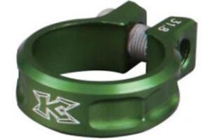 KCNC SC11 Screw Seatpost Clamp Green 31.8mm