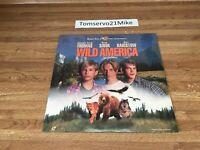 Wild America Laserdisc LD WIDESCREEN FORMAT - RARE - BRAND NEW SEALED