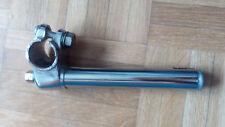 Tija/potencia manillar bicicleta acero cromado cuña vintage 22,2 mm