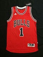 NBA Jersey Derrick Rose 1 Chicago Bulls Red Basketball Swingman shirt