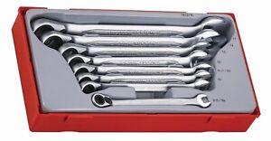 Teng Tools 8pc Ratchet Spanner Set