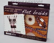 Kumihimo Starter Flat Braiding Kit With Square Disc