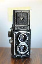 ROLLEICORD,  Schneider XENAR Lens  w/ Leather Case/lens Cap ,  Rollei Rolleiflex