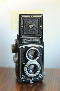 ROLLEICORD,  Schneider XENAR Lens  w/ Leather Case/lens Cap ,  Rollei Rolleifl@@