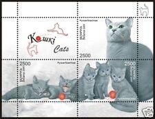 2009. Belarus. Animals. Cats. S/sheet. MNH