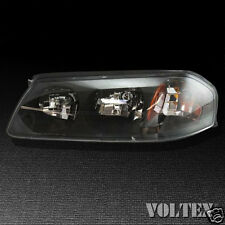 2000-2004 Chevrolet Impala Headlight Lamp Clear lens Chevy Halogen Driver Left