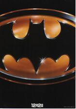 Batman - Original Japanese Chirashi Mini Poster A - Tim Burton - Michael Keaton