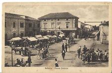 BELLARIA PIAZZA CENTRALE ANNO 1929 MERCATO CARABINIERI BIRRA PERONI