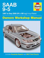 Haynes Manual 4156 Saab 9-5 95 2.0 2.0T & 2.3 2.3T SE Aero 1997-2005 NEW