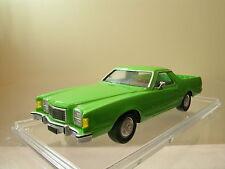 BUDIG FORD RANCHERO 500GT BROUGHAM PICK-UP 1978 GREEN RESIN HANDBUILT+BOX 1:43