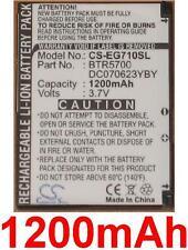 Batería 1200mAh Para TOSHIBA Portege G710, tipo BTR5700 DC070623YBY