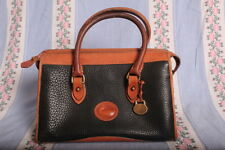 VINTAGE 80's Dooney & Bourke Handbag, gold fittings
