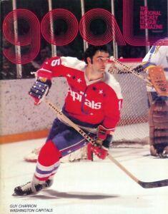 Dec. 28, 1977 Pittsburgh Penguins vs. Washington Capitals Game Program Vintage