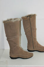 Bottes NOTHING ELSE Daim Marron et Fourrure Lapin T 36 TBE