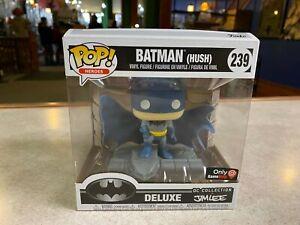 Funko POP! Deluxe Jim Lee DC Super Heroes BATMAN HUSH Gamestop Color #239