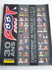 ALBUM PANINI FOOTBALL 2006 , championnat de france de L1 et L2 , INCOMPLET .