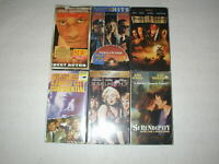 BRAND NEW SEALED MOVIES 6 PACK VHS MOVIE LOT RARE OOP HTF