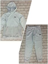 UNDER ARMOUR BOYS GREY COLDGEAR TRACK TOP/ PANTS *SOLD SEPARATELY*  CHILDRENS AD