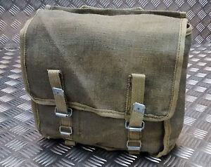 Genuine Polish Military Issue Canvas Bread Bag / Medics Satchel - G1