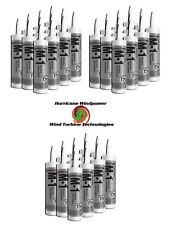 36 TUBES Chemlink M1 BLACK Structural Sealant - 10.1 oz Cartridge - ChemLink M-1