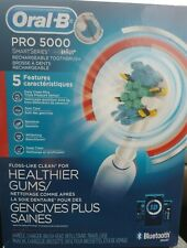 Oral-B Pro 5000 Smart Series Rechargeable Electric Toothbrush Blue