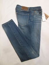 (*.*) QUIKSILVER * Womens LORNE SKINNY Blue Jeans / Denim * Juniors Size 5 * NWT