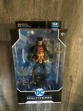 "DC Multiverse McFarlane ROBIN DC Rebirth Damian Wayne 7"" Action Figure New"