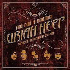 Your Turn to Remember The Definitive Anthology 1970 - 1990 Uriah Heep Audio CD