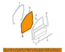 GM OEM Front Door-Surround Weatherstrip Seal Left 94790530