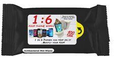 3 Pack: 1:6 POOP PHONE WIPES. Cell phones literally have poop on them! Wipe'em!