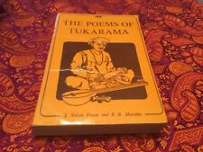 POEMS OF TUKARAMA By Nelson J. Fraser & K.b. Marathe Good Condition