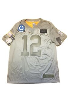 Nike Andrew Luck #12 Indianapolis Colts Salute to Service Jersey BQ0557-227 sz L
