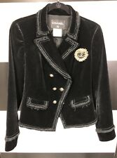 Black Chanel Blazer W/ Gold Hardware