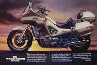YAMAHA VENTURE ROYALE 2 Page Motorcycle Ad 1983