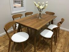 Australian Made Solid Spotted Gum Retro Table