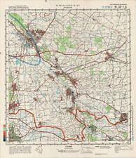 Russian Soviet Military Topographic Map - DOETINCHEM (Netherlands), ed.1988