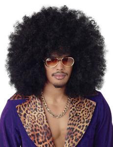 WOW XXL Afro Perücke Karneval Fasching Retro Hippie Wig Party Haare«