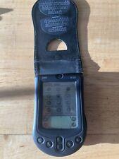PALM  PILOT M100 PERSONAL DIGITAL ASSISTANT PDA Targus Leather case & batteries