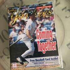 Yankees Magazine Chad Curtis Coming Together August 1998 Volume 19 Issue 5