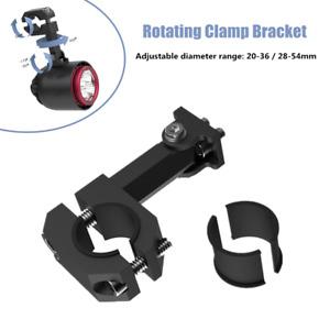 1PC Handle LED Headlight Turn Signal Mirror Code Rotating Rotating Clamp Bracket