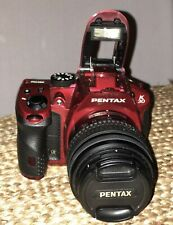 Pentax Pentax K K-30 16.3 Mp Digital Slr Camera - Crystal Red (Kit w/ Wr 18-55mm
