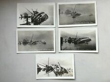 More details for 5 mcrae rp postcards ss prince rupert gtp steamer capsized swanson bay bc canada