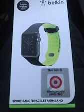 Belkin Sport Band Wristband ArmBand Apple Watch 38mm Green