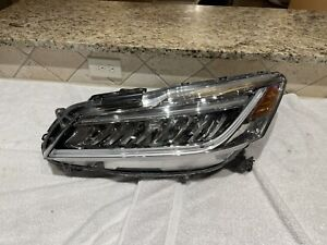 2016 2017 HONDA  ACCORD 2 DOOR COUPE HEADLIGHT OEM FULL LED INSURANCE QUALITY